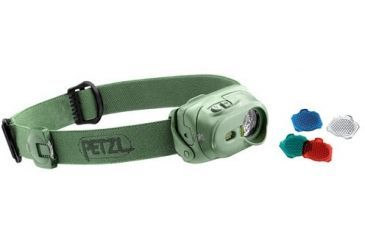 Petzl TACTIKKA XP Headlamp, Olive Drab, N/A E89 PC