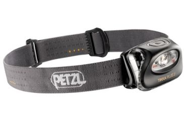 Petzl TIKKA PLUS 2 Headlamp, Grey, N/A E97 PG