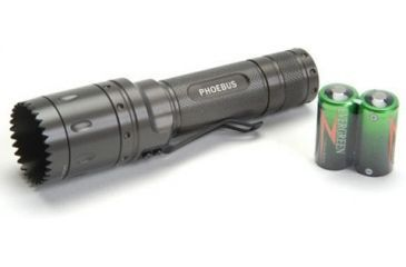 Phoebus Luxeon 3W Weaponized Bezel Tactical Flashlight