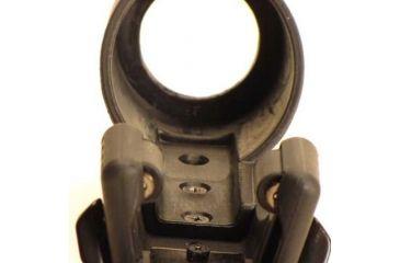 Phoebus Tactical Quick Release Rotating Fast Holster Flashlight, Black, Medium PFH-6/37