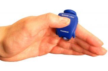 Phoebus Tactical ML-1 LED Mission Light Finger Flashlight, Blue, Small ML-1/BLU