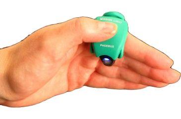 Phoebus Tactical ML-1 LED Mission Light Finger Flashlight, Green, Small ML-1/G