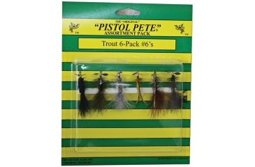 Pistol Pete Trout 6 Pk Sz 6 10600