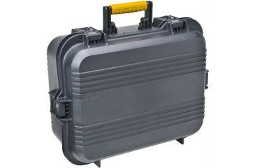 Plano All Weather Tactical Case, XL, Pistol/Accessories Case, Black/Yellow 189797