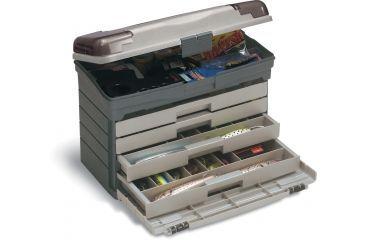 Plano Four Drawer w/ T.A.- Graphite & Sandstone - new label, Graphite & Sandstone 757004