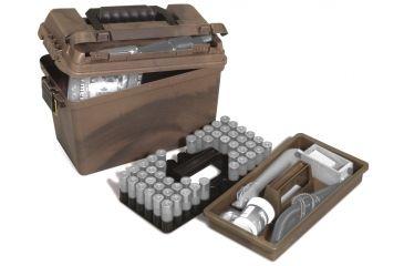 Plano Molding Deep Case w/Universal Shell Tray & Lift-Out Tray - Camo 1612-30