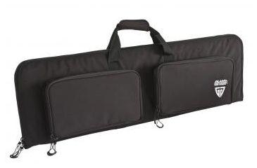 Plano Molding Military Grade Rectangular Soft Gun Case -Black, Fits in 42in. AW Case 93794