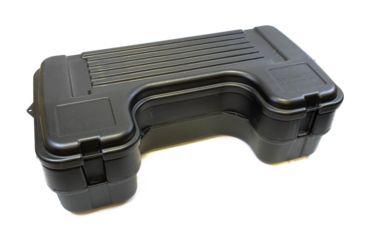 3-Plano Molding Rear Mount ATV Box w/ hinged cover - Black