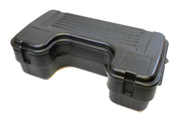 1-Plano Molding Rear Mount ATV Box w/ hinged cover - Black