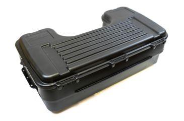 4-Plano Molding Rear Mount ATV Box w/ hinged cover - Black