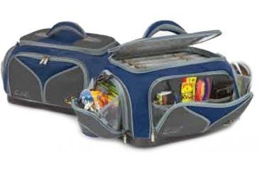 Plano Plano Elite KVD Tackle Bag w/ 5 utilities - updated design/colors: blue/gray, Blue-Gray 487040