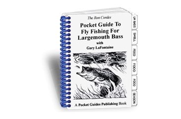 Pocket Guides Publishing Pocket Guide to Fly Fishing for Largemouth Bass PG-FFLB