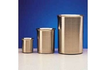 Polar Ware Griffin Beakers, Stainless Steel 4000B