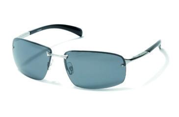 Polaroid Darrel Bifocal Sunglasses, Silver Frame PDP4125YBF