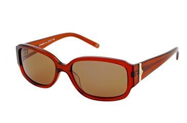 Polaroid Lucy Bifocal Sunglasses, Brown Frame PDP9153YBF