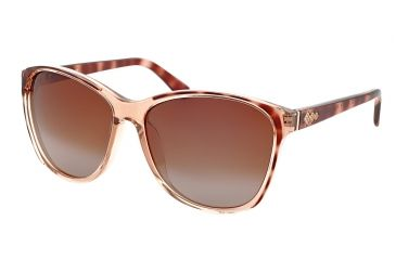Polaroid Carol Womens Sunglasses - Brown Frame, Polarized Brown Gradient Lenses PDF8110Y