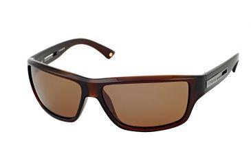 Polaroid Douglas Mens Sunglasses - Brown Frame, Polarized Copper Lenses PDX8104Y