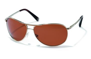 Polaroid Adam Sunglasses - Gold, Polarized Copper Lenses PDX4114Y