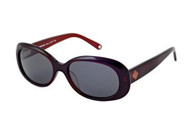 Polaroid Dana Progressive Sunglasses, Burgundy Frame PDP9103Y-PROG