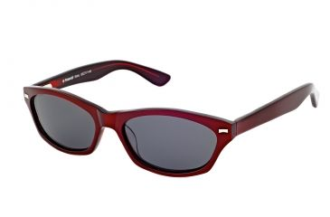 Polaroid Edna Progressive Sunglasses, Black/Red Frame PDP9104Y-PROG