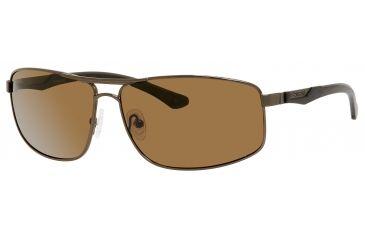 Polaroid X 4412/S Single Vision Prescription Sunglasses X4412S-0EPT-TM-6413 - Frame Color Brown, Lens Diameter 64 mm