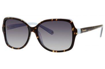 Polaroid X 8404/S Single Vision Prescription Sunglasses X8404S-00BM-ML-5915 - Frame Color Havana, Lens Diameter 59 mm