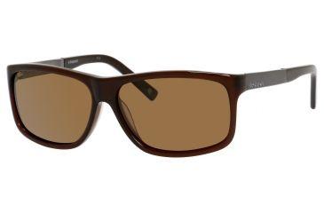 Polaroid X 8416/S Sunglasses X8416S-0O81-2P-5913 - Crystal Brown Frame, Brown Polarized Lenses, Lens Diameter 59mm, Distance Between Lenses 13mm