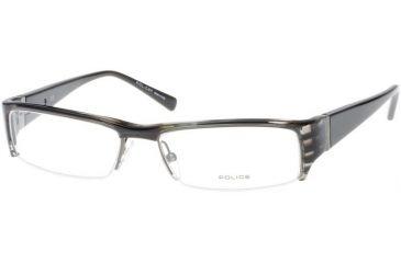 Police 1551 Eyeglass Frame, Black