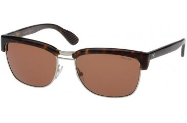 Police 1587 Sunglasses with Tortoise Frame and Brown Lens