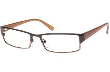 Police 2968 Eyeglasses Frame, Shiny Brown