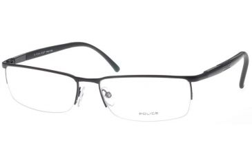 Police Eyeglasses Frame 8148, Black 531