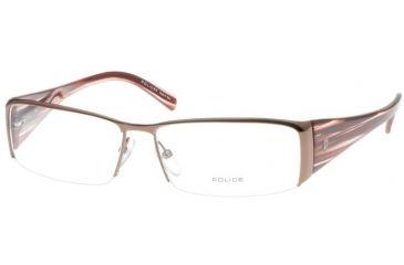 Police 8151 Brown Eyeglasses Frame, K01