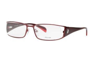 Police 8274 Eyewear, Burungudy Red