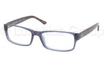 117fed41b4 Polo Eyeglasses PH2065 with Rx Prescription Lenses 5276-5416 - Blue  Transparent