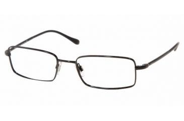 Polo PH 1022 Eyeglasses Styles Shiny Black Frame w/Non-Rx 52 mm Diameter Lenses, 9003-5218