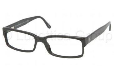 8bd23f7ddb Polo PH 2043 Eyeglasses Styles - Shiny Black Frame w Non-Rx 54 mm
