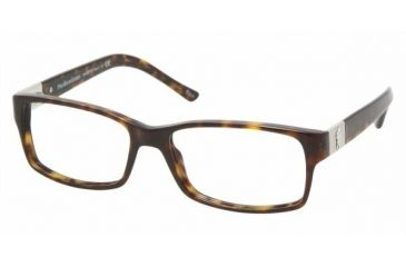 Polo PH 2046 Eyeglasses Styles - Havana Frame w/Non-Rx 54 mm Diameter Lenses, 5003-5416