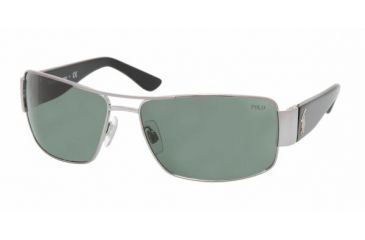 Polo PH3041 Single Vision Prescription Sunglasses PH3041-900271-6416 - Lens Diameter 64 mm, Frame Color Gunmetal