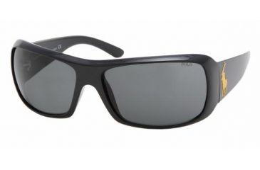 Polo PH4039 Progressive Prescription Sunglasses PH4039-500187-6516 - Frame Color Shiny Black, Lens Diameter 65 mm