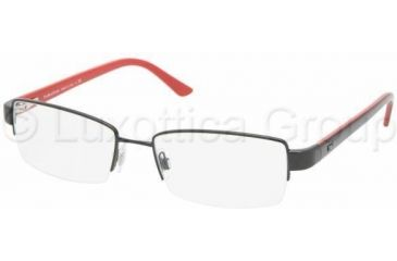 Polo PH1097 Progressive Prescription Eyeglasses 9003-5318 - Shiny Black