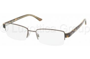 Polo PH1097 Progressive Prescription Eyeglasses 9011-5318 - Brown