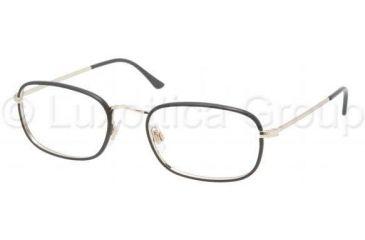 Polo PH1104JP Eyeglass Frames 9116-5320 - Pale Gold/Matte Black