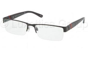 Polo PH1117 Bifocal Prescription Eyeglasses 9038-5417 - Matte Black Frame