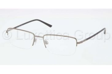 Polo PH1128 Eyeglass Frames 9050-5517 - Matte Gunmetal Frame, Demo Lens Lenses