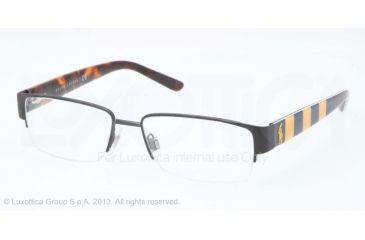 Polo PH1140 Single Vision Prescription Eyeglasses 9259-53 - Matte Navy Blue Frame