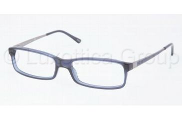 Polo PH2076 Single Vision Prescription Eyewear 5276-5216 - Dark Blue Transparent