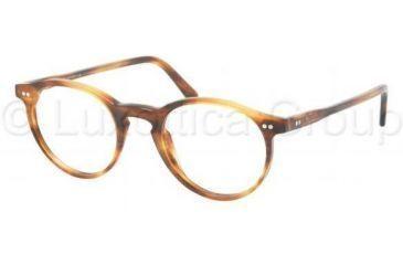 Polo PH2083 Progressive Prescription Eyeglasses 5007-4620 - Havana Striped Frame