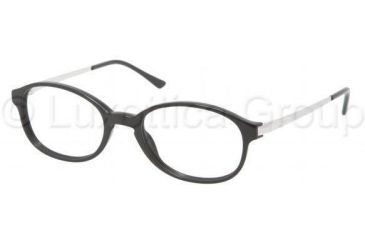 Polo PH2084 Progressive Prescription Eyeglasses 5001-4918 - Shiny Black Frame