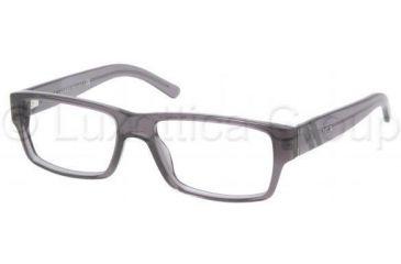 Polo PH2085 Single Vision Prescription Eyeglasses 5195-5216 - Dark Gray Transparent Frame