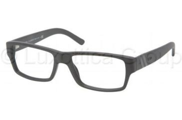 Polo PH2085 Single Vision Prescription Eyeglasses 5284-5216 - Matte Black Frame